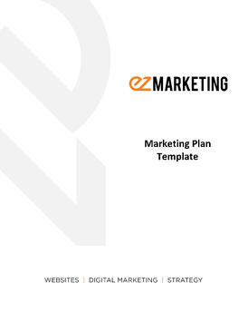 Marketing Plan Template_Cover