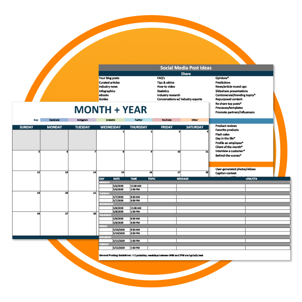 Social Content Calendar_Icon